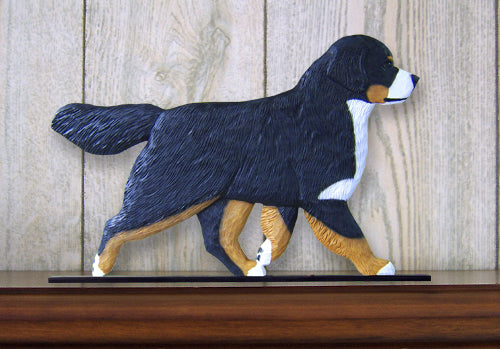 Bernese Mountain Dog Dog in Gait Topper