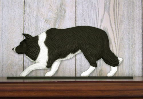 Border Collie Dog in Gait Topper Black
