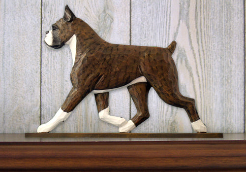 Boxer Dog in Gait Topper Brindle