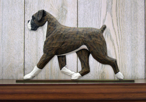 Boxer Natural Dog in Gait Topper Brindle