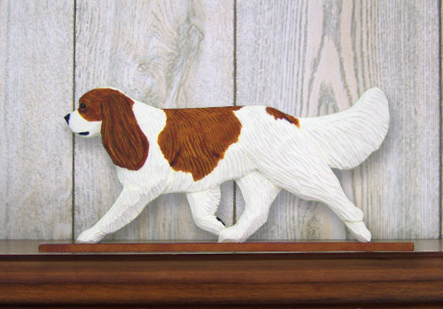 Cavalier King Charles Spaniel Dog in Gait Topper Black and Tan