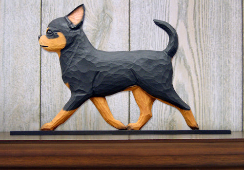 Chihuahua Dog in Gait Topper Black