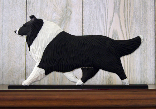 Collie Dog in Gait Topper Bi Black