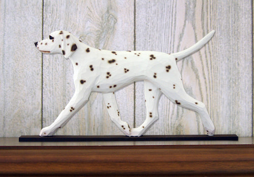 Dalmatian Dog in Gait Topper Black