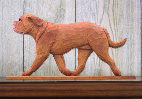 Dogue de Bordeaux Dog in Gait Topper