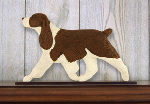 English Springer Spaniel Dog in Gait Topper Liver