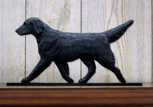Flat-Coated Retriever Dog in Gait Topper Black