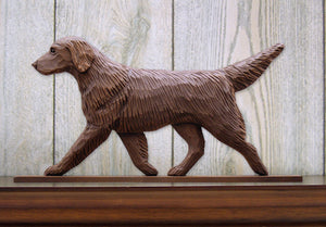 Flat-Coated Retriever Dog in Gait Topper Liver