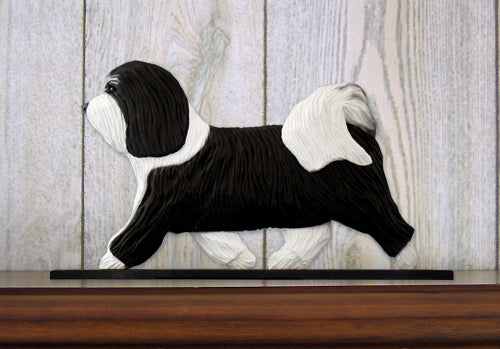 Havanese Dog in Gait Topper Black and White