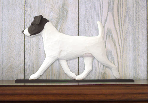 Jack Russell Terrier Dog in Gait Topper Black and White
