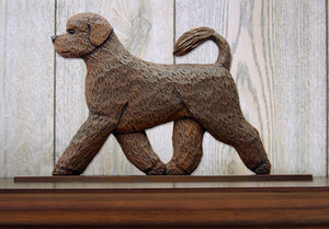 Portuguese Water Dog Dog in Gait Topper Brown