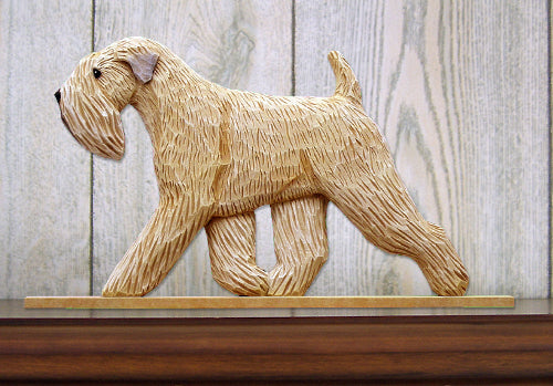 Soft Coated Wheaten Terrier Dog in Gait Topper
