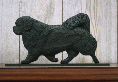 Tibetan Spaniel Dog in Gait Topper Black