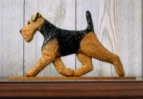 Welsh Terrier Dog in Gait Topper