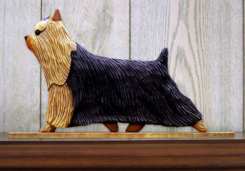 Yorkshire Terrier Dog in Gait Topper