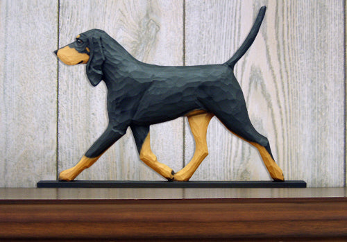 Coonhound Black and Tan Dog in Gait Topper
