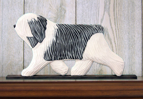 Polish Lowland Sheepdog Dog in Gait Topper