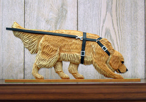 Golden Retriever Tracking Dog in Gait Topper Light