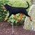 Bloodhound Garden Landscaping Stake Black and Tan
