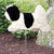 Coton de Tulear Garden Landscaping Stake Black and White