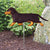 Dachshund (smooth) Garden Landscaping Stake Black and Tan