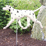 Handpainted Dog Breed Outdoor Garden Stakes
