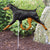 Doberman (natural) Garden Landscaping Stake Black and Tan