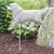 Golden Retriever Show Garden Landscaping Stake Cream