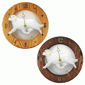 Clumber spaniel Canine Home Decor to tell time