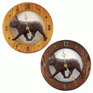 French Bulldog Wall Clock Canine Home Decor to tell time