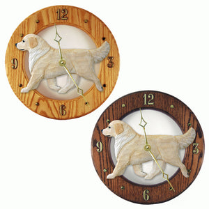 Golden retriever Canine Home Decor to tell time