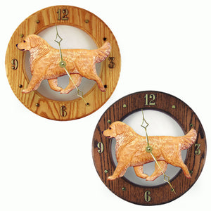 Golden retriever Dog Style Analog Clock