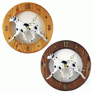Great dane Natural Custom Hand Crafted Wood Clock