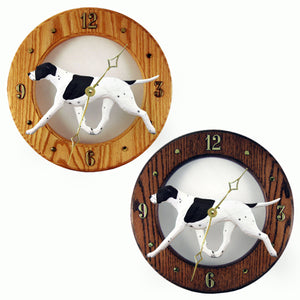 English pointer Hand Carved Wood Hands to tell Time