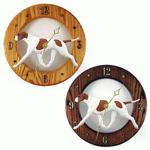 English pointer Dog Style Analog Clock