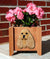 American Cocker Spaniel Dog Planter Box Buff