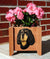 Gordon Setter Dog Planter Box