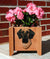 Great Dane Natural Dog Planter Box Brindle