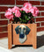 Great Dane Natural Dog Planter Box Fawn Brindle