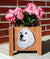 Great Pyrenees Dog Planter Box