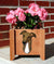 Greyhound Dog Planter Box Brindle