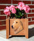 Irish Wolfhound Dog Planter Box Fawn