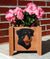Rottweiler Dog Planter Box