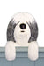 Polish Lowland Sheepdog Dog Door Topper