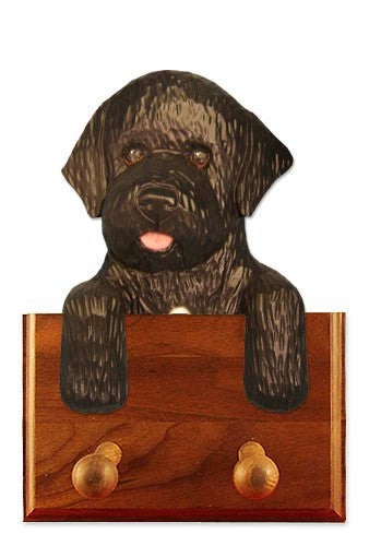 Portuguese Water Dog Leash Holder Black