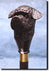 Portuguese Water Dog Hand painted Walking Cane Stick