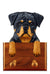 Rottweiler Dog Leash Holder