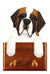 St Bernard Dog Leash Holder