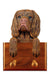 Sussex Spaniel Dog Leash Holder