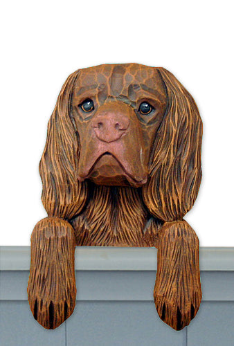 Sussex Spaniel Dog Door Topper